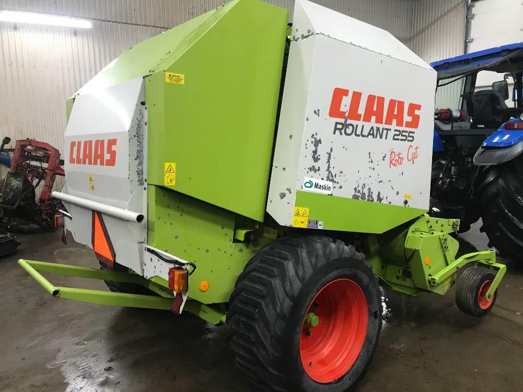 CLAAS Rollant 255 RC, Rundbalspressar, Lantbruk