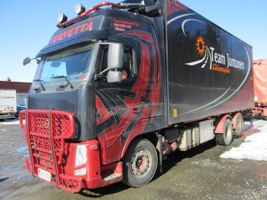 Volvo FH 13, Hakekuorma-autot, Kuljetuskalusto