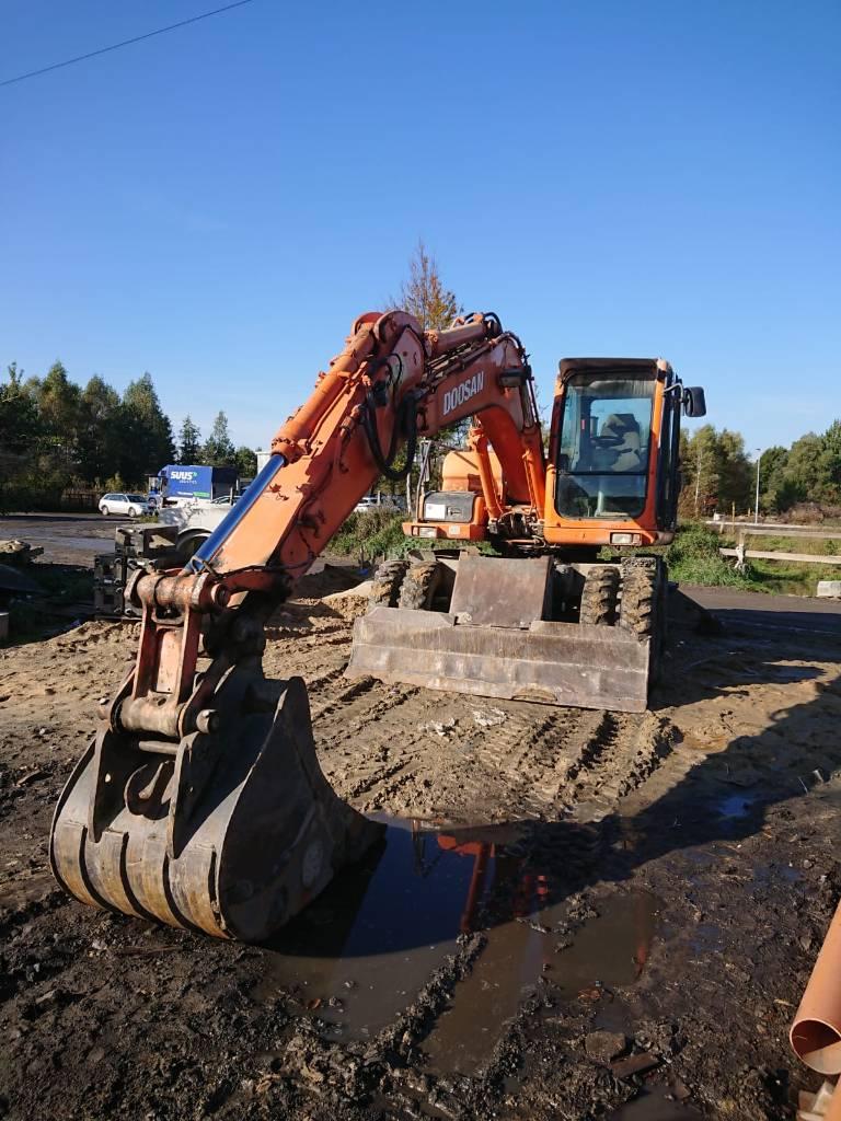 Doosan DX 140 W, Koparki kołowe, Maszyny budowlane