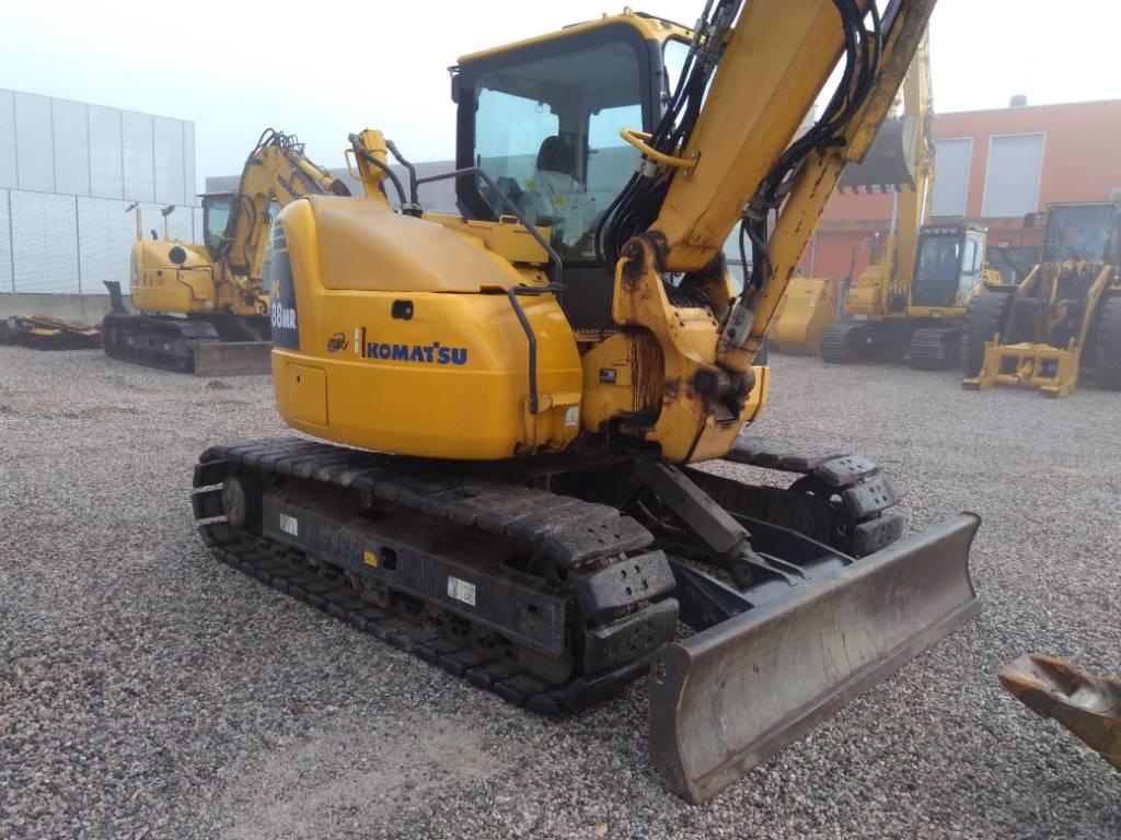 Komatsu PC88MR-8, Midi excavators, Construction Equipment