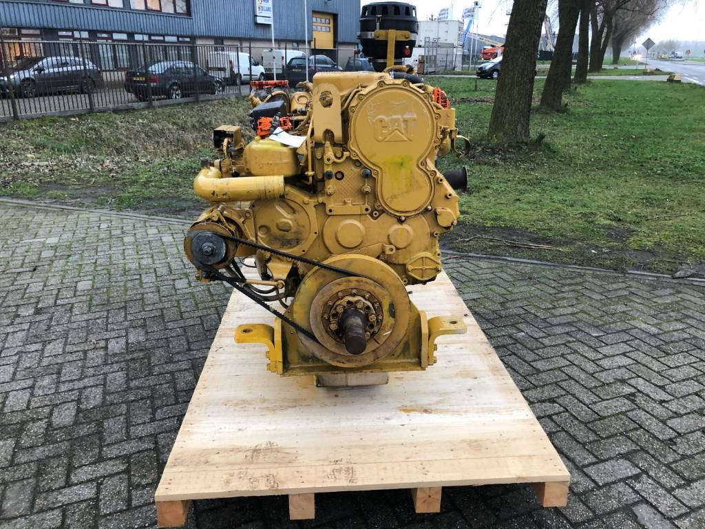 Caterpillar C 18 - Marine Propulsion - 357 kW - T2P, Marine Applications, Construction