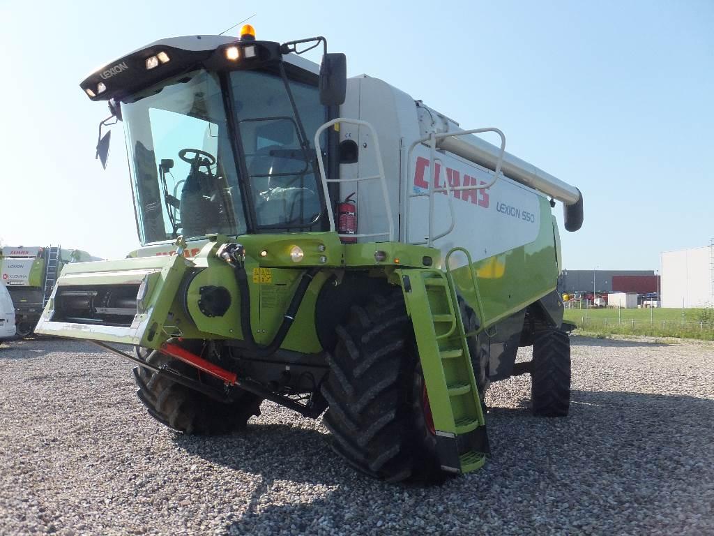 CLAAS Lexion 550, Derliaus nuėmimo kombainai, Žemės ūkis