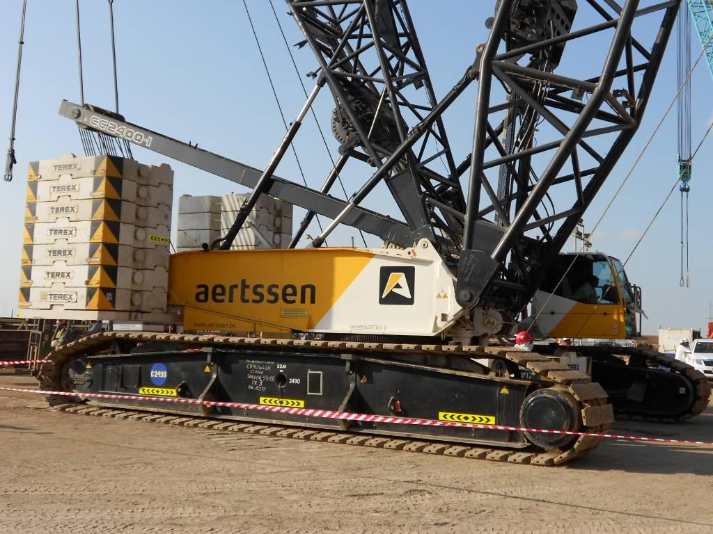 Terex Demag CC 2400/1, Tracked cranes, Construction