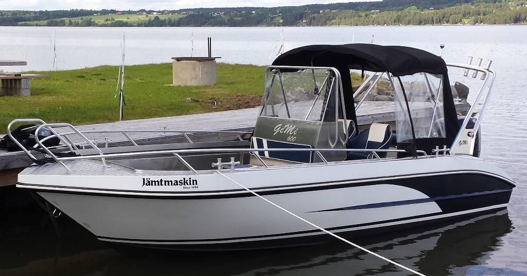[Other] GEMI aluminiumbåt 600 CC, Övriga, Entreprenad