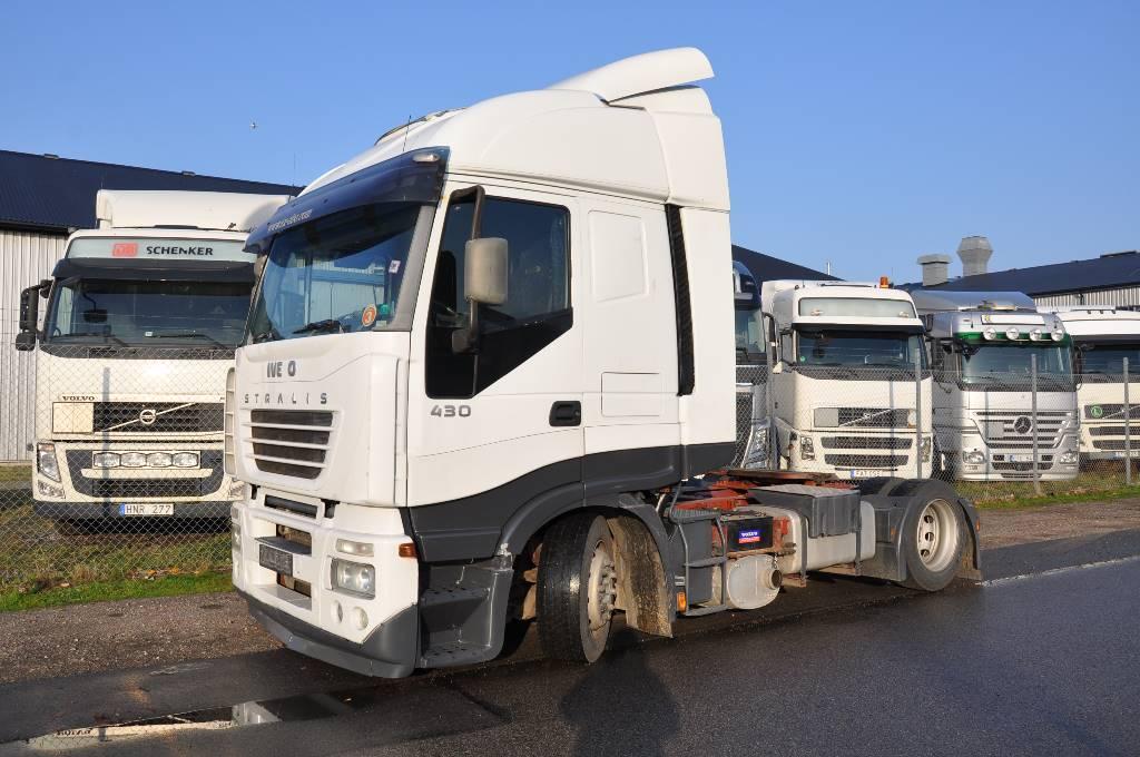 Iveco Stralis AS 440 S43 TP, Dragbilar, Transportfordon