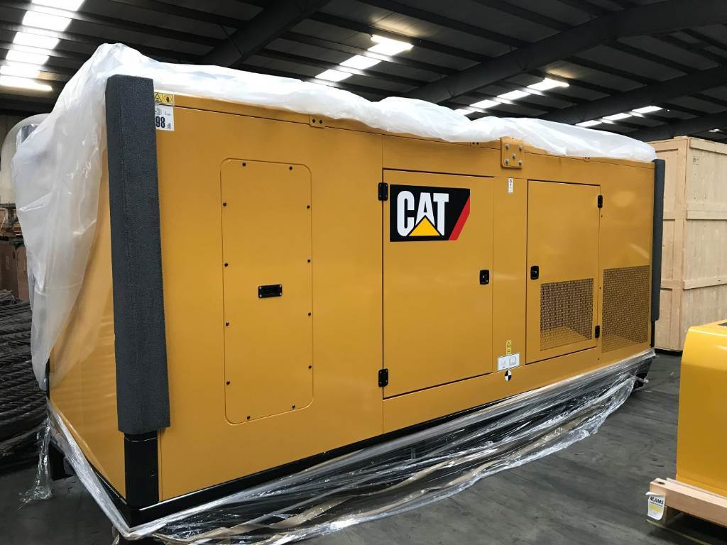 Caterpillar C15 E0 - GENERATOR SET 500 kVa - DPH 98014, Diesel Generators, Construction