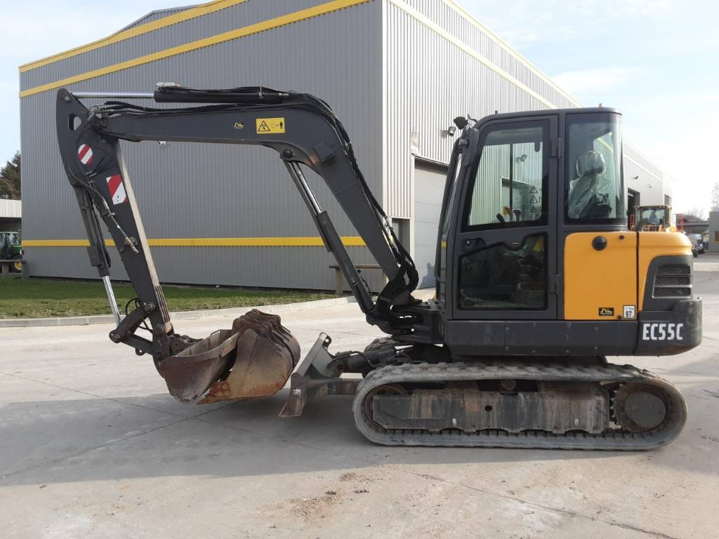 Volvo EC 55 C 8442, Mini Excavators <7t (Mini Diggers), Construction Equipment