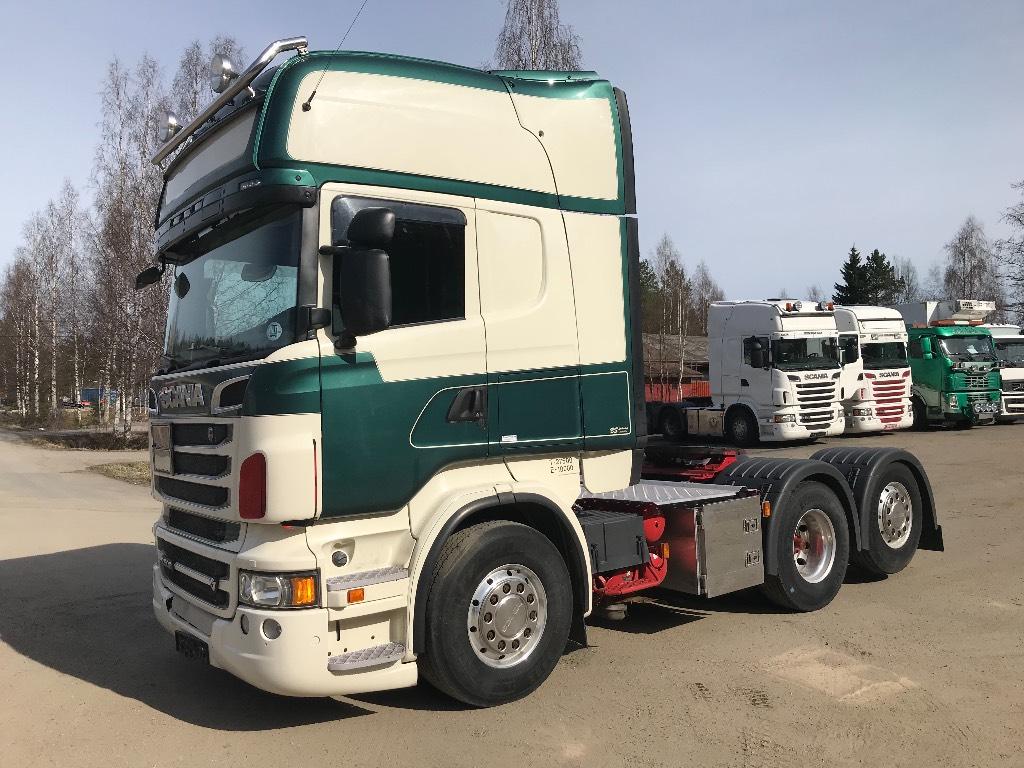 Scania R 500 6X2 Topline ADR, Vetopöytäautot, Kuljetuskalusto