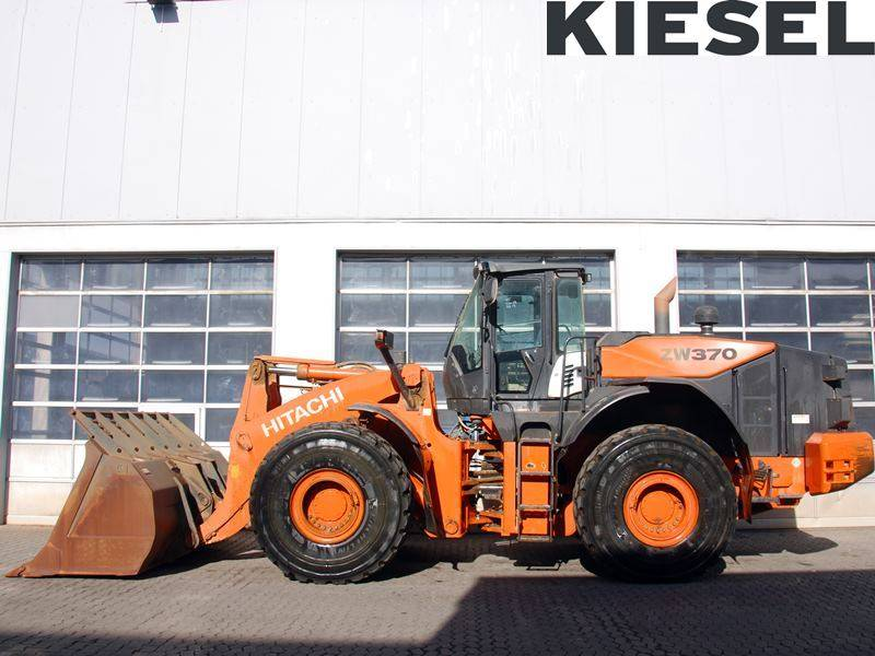 Hitachi ZW 370-5, Wheel Loaders, Construction Equipment