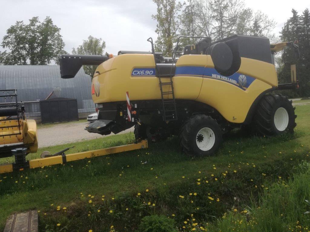 New Holland CX6.90, Kombainid, Põllumajandus