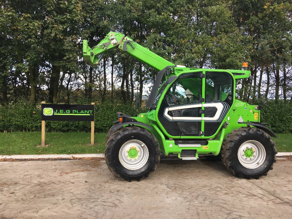 Merlo TF 42.7, Telehandlers for agriculture, Agriculture