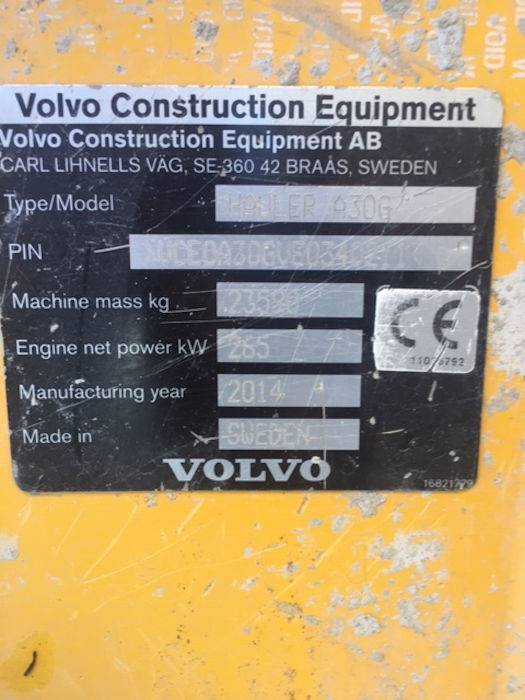 Volvo A30G, Articulated Dump Trucks (ADTs), Construction Equipment