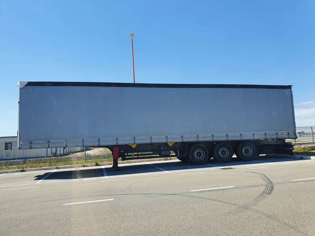 Schmitz SCS 24/L - 13.62 E B, Curtain  trailers, Trucks and Trailers