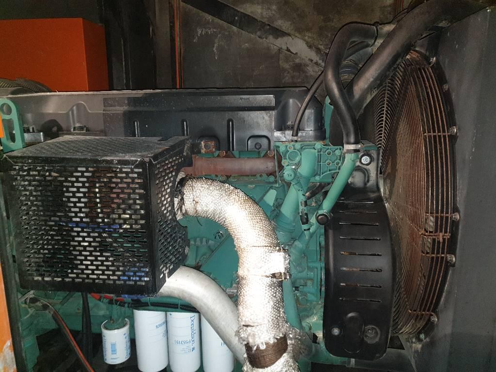 Gesan DVR 300, Generadores diesel, Construcción