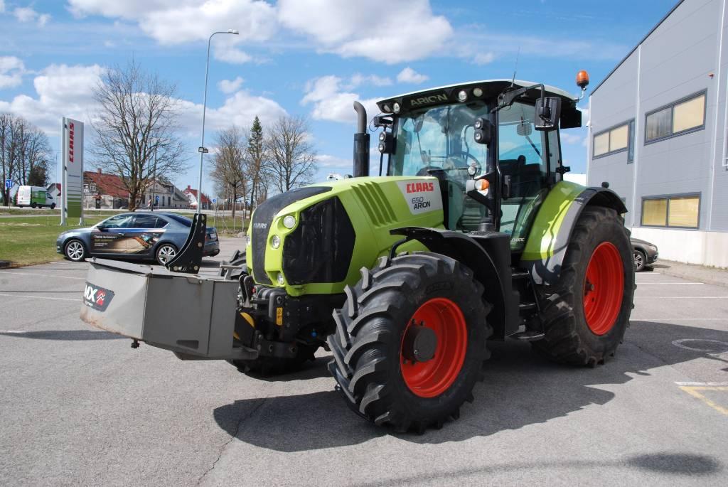 CLAAS Arion 650 Cmatic, Traktorid, Põllumajandus