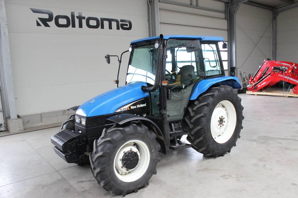 New Holland TL 100, Traktory, Maszyny rolnicze