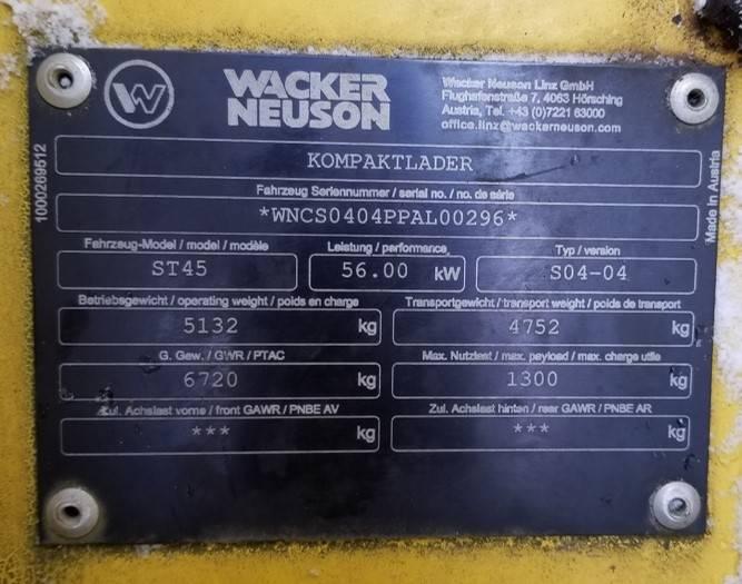 Wacker Neuson ST45, Crawler Loaders, Products