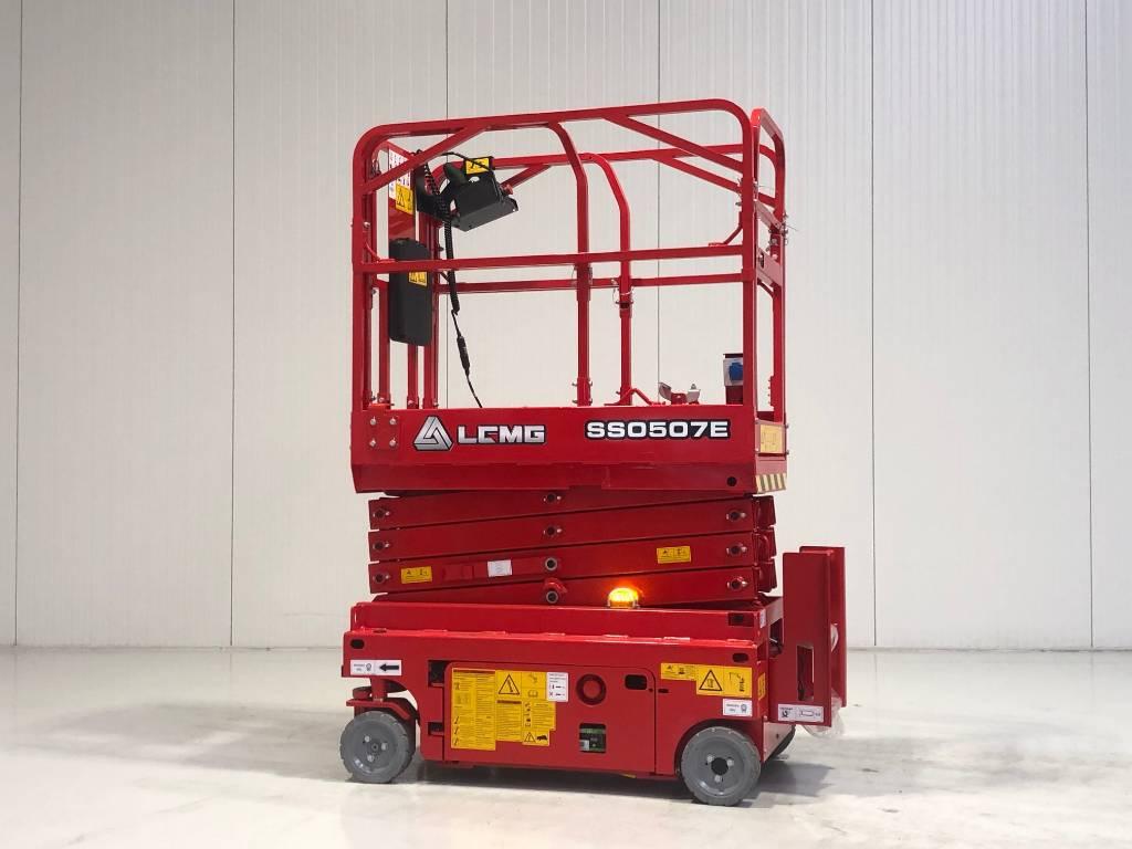 LGMG SS0507E, Schaarhoogwerkers, Bouw