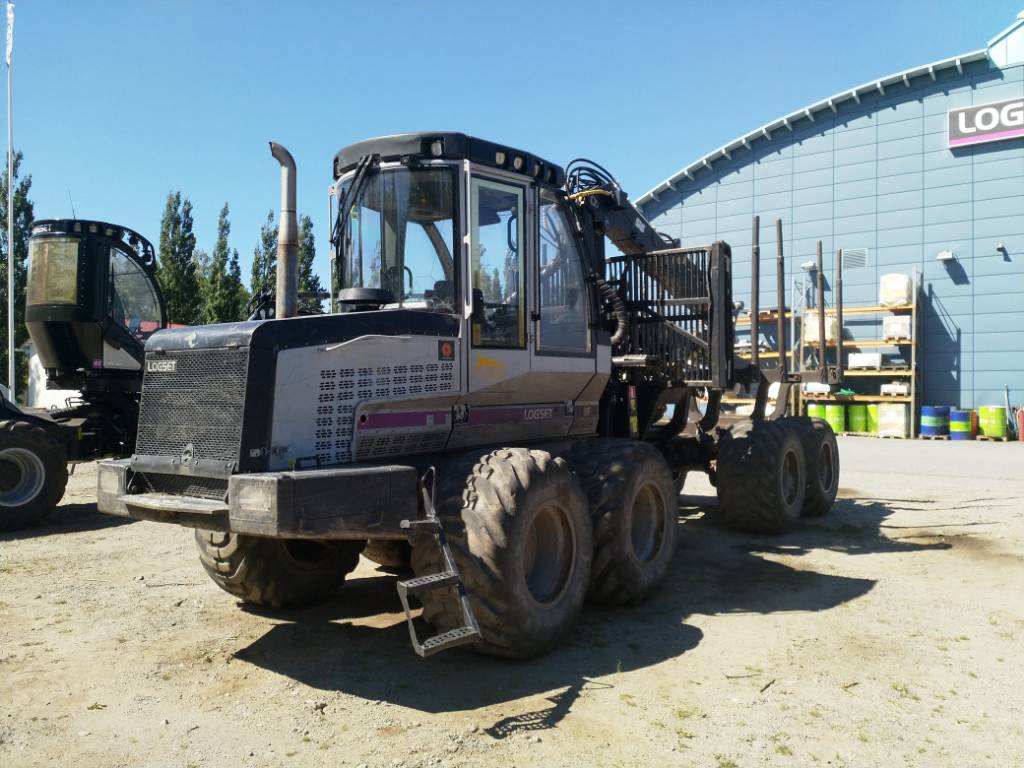 Logset 6F, Forwarders, Forestry