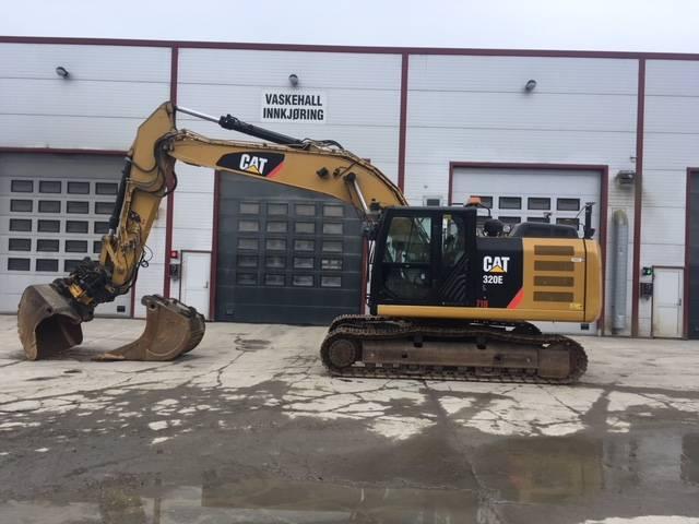 Caterpillar 320EL, Rupsgraafmachines, Bouw