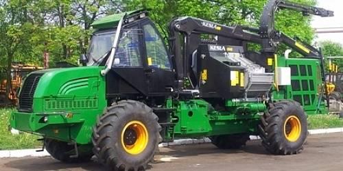 Amkodor 2904, Rębaki, Maszyny leśne
