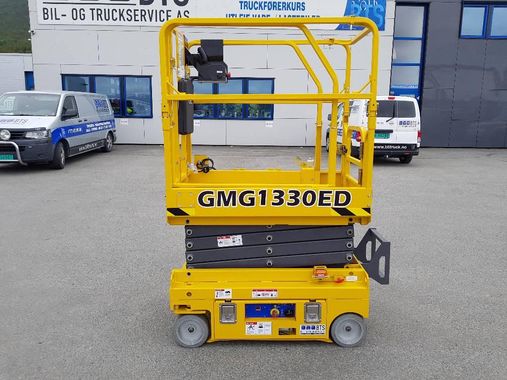 [Other] GMG 1330-ED sakselift 6 m arb. høyde, Sakselifter, Anlegg