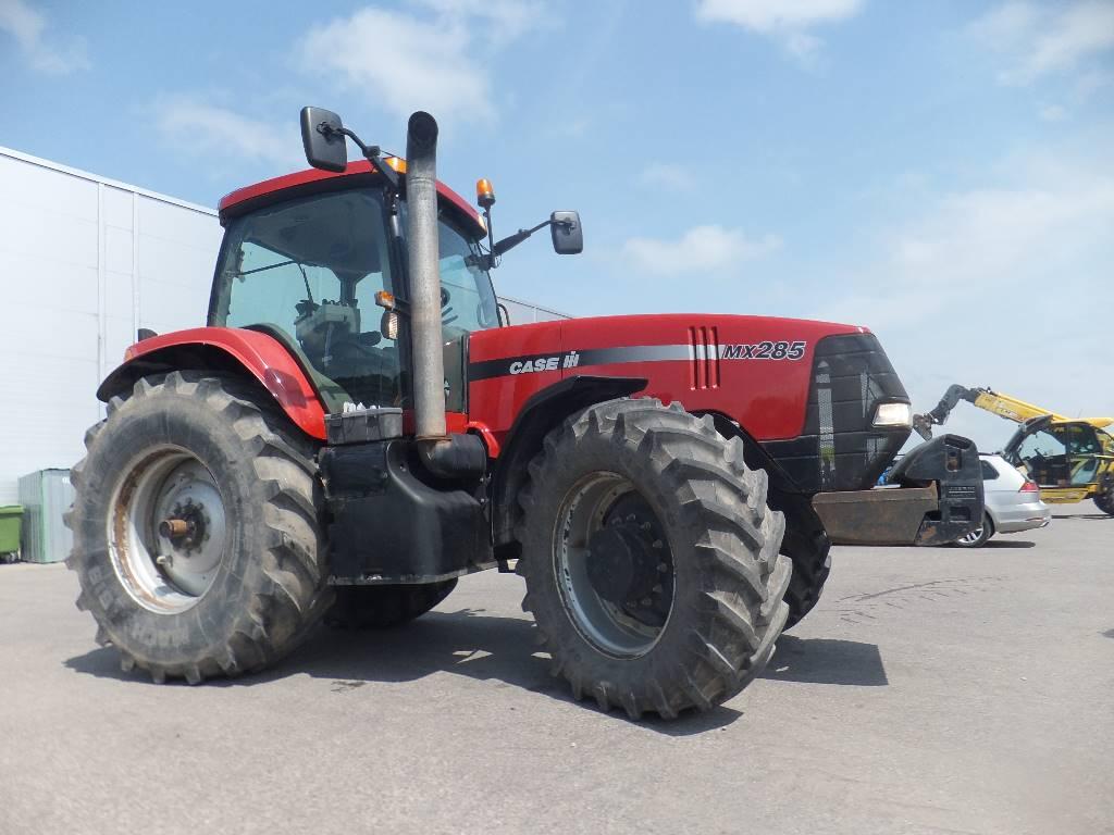 Case IH Magnum 285, Traktoriai, Žemės ūkis