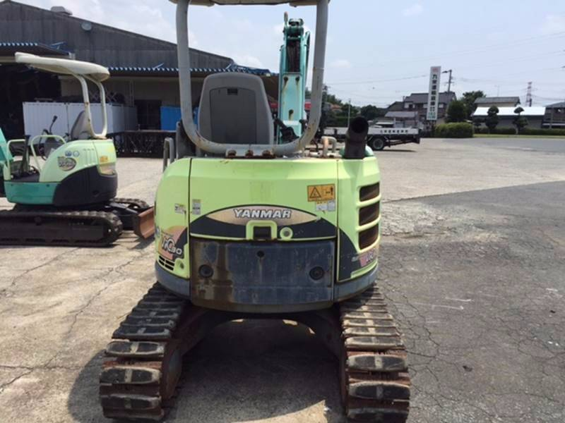 Yanmar ViO30-5, Mini excavators < 7t (Mini diggers), Construction