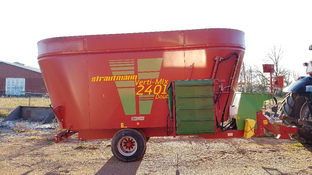 Strautmann Verti-Mix 2401 Double, Fodervagnar, Lantbruk