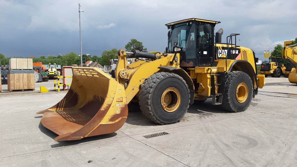 Caterpillar 966 K, Wheel loaders, Construction