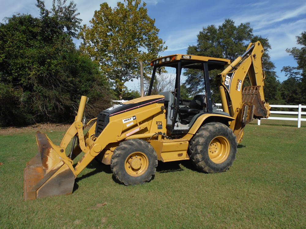 Used caterpillar 420d backhoe loaders on auction mascus canada