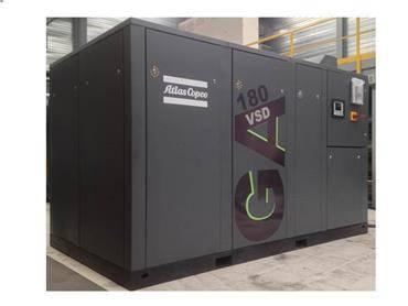 Atlas Copco GA 180 VSD FF, Compressors, Industrial