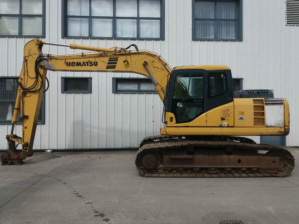 Komatsu PC180LC-7K, Crawler Excavators, Construction Equipment