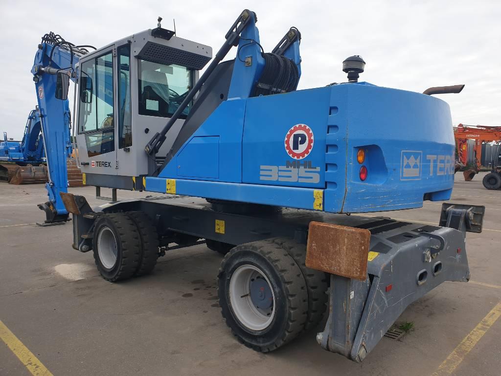 Fuchs MHL 335 E, Waste / industry handlers, Bouw