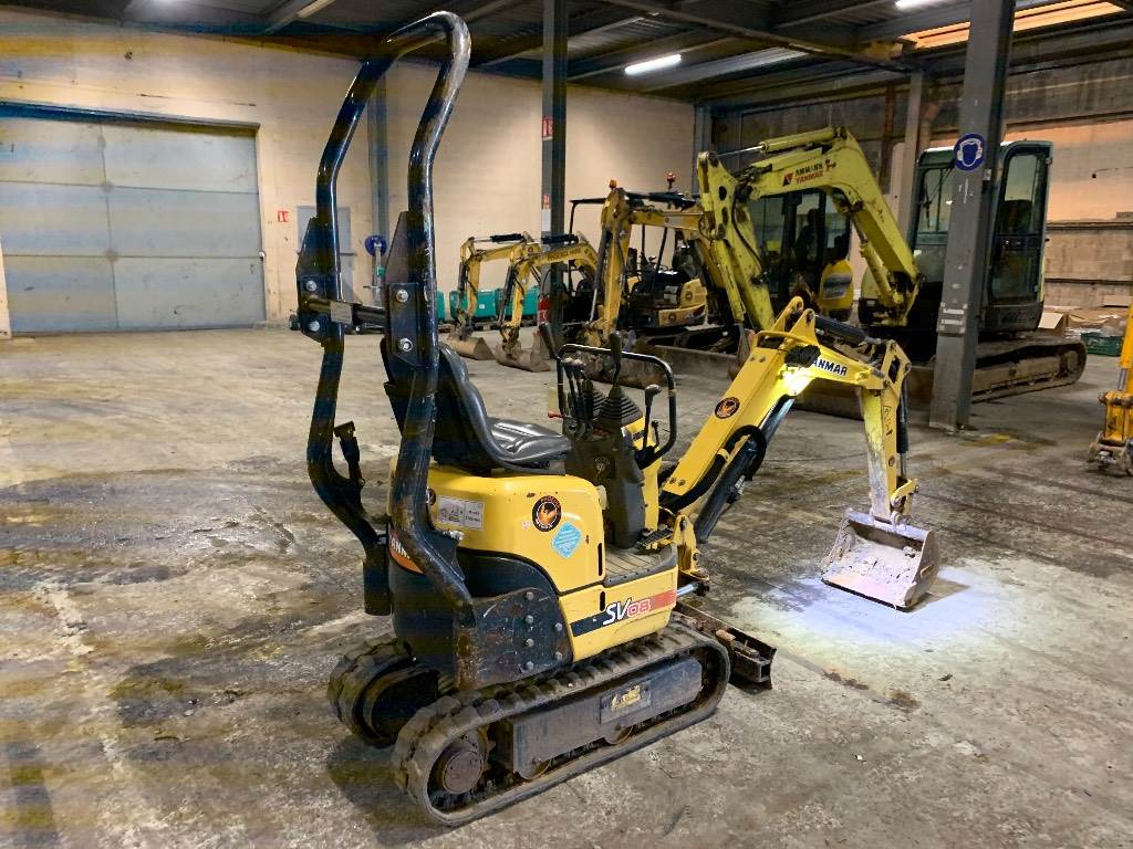 Yanmar SV 08, Mini excavators < 7t (Mini diggers), Construction
