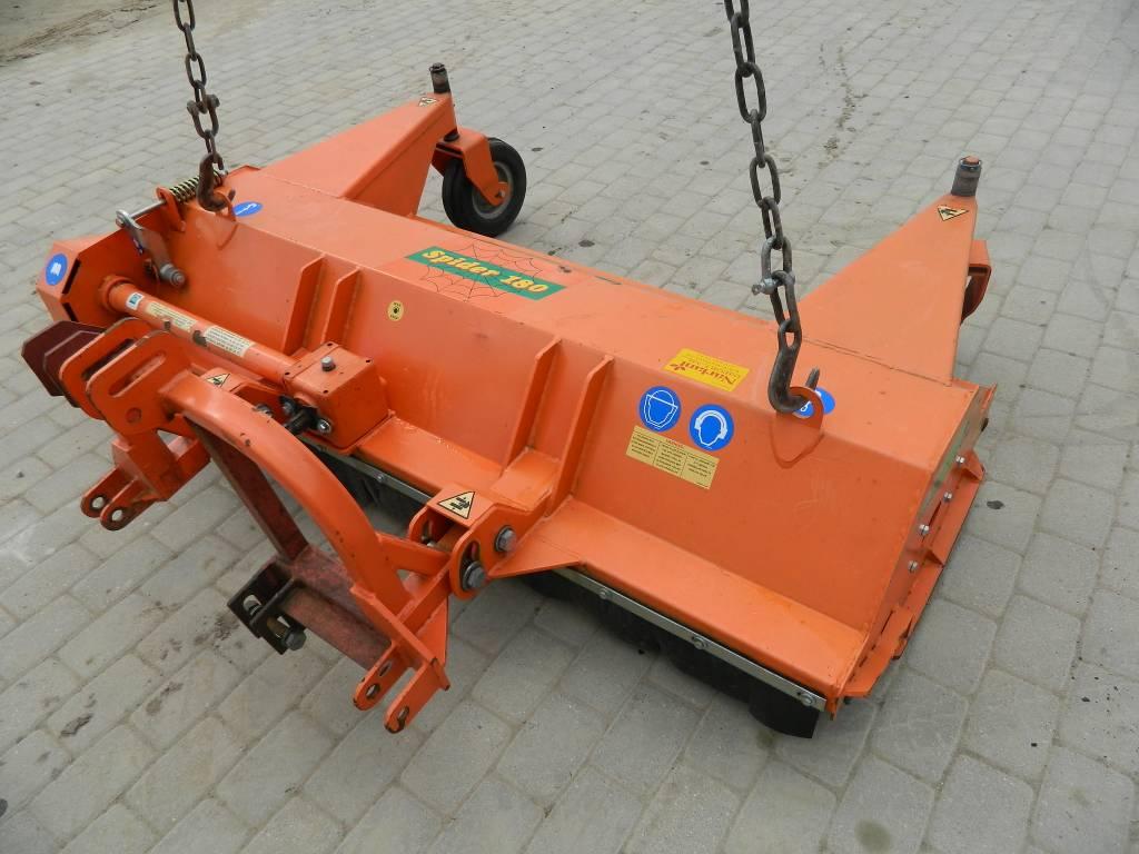 Agrimaster Spider 180, Zāles smalcinātāji, Lauksaimniecība