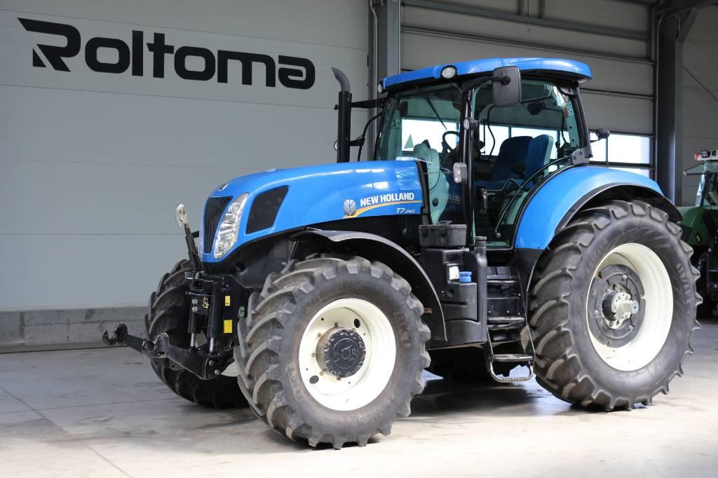 New Holland T 7.260, Traktory, Maszyny rolnicze