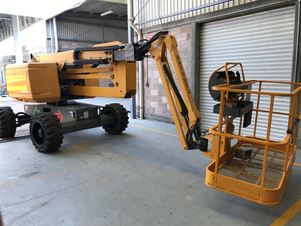 Haulotte HA16RTJ 928, Articulated boom lifts, Construction Equipment