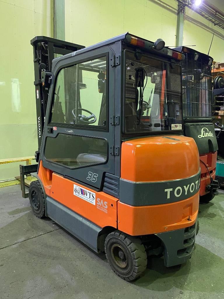 Toyota 7 FB MF 35, Elmotviktstruckar, Materialhantering