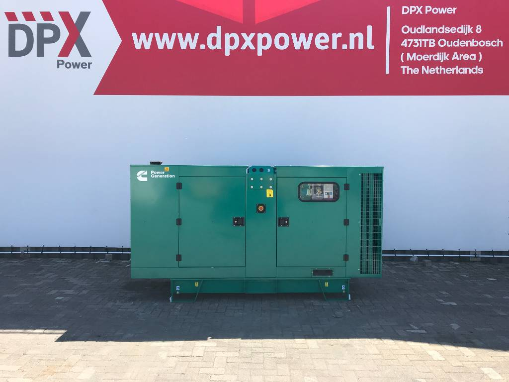 Cummins C110 D5 - 110 kVA Generator - DPX-18509, Diesel generatoren, Bouw