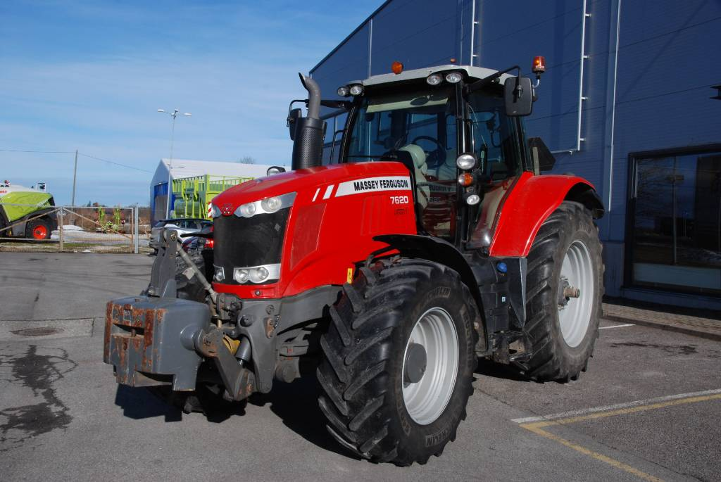 Massey Ferguson 7620 Dyna VT, Traktoriai, Žemės ūkis
