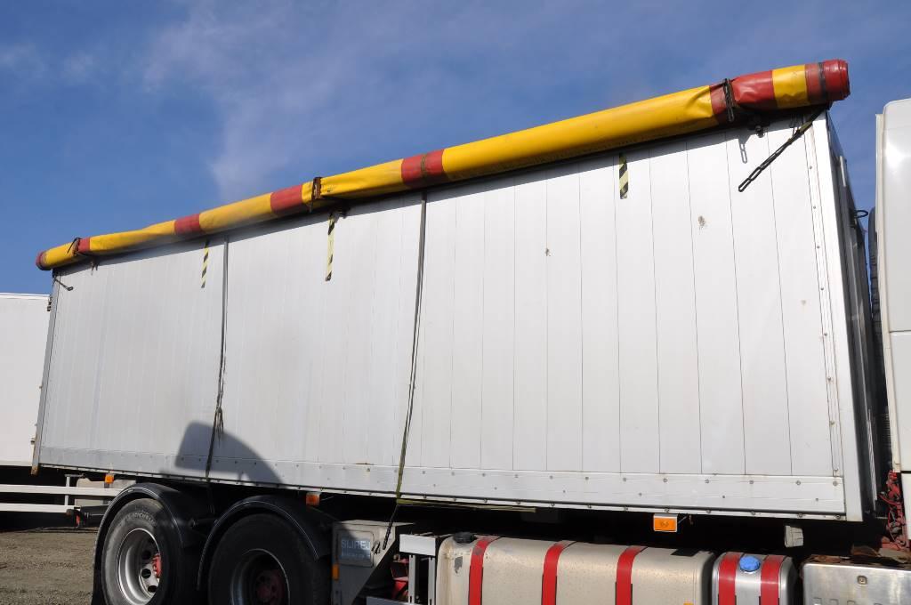 ORY Spannmålsflak, Plattformar, Transportfordon