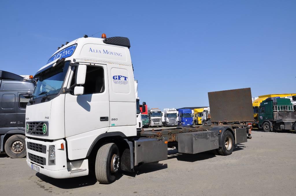 Volvo FH12 380 4X2, Växelflak-/Containerbilar, Transportfordon