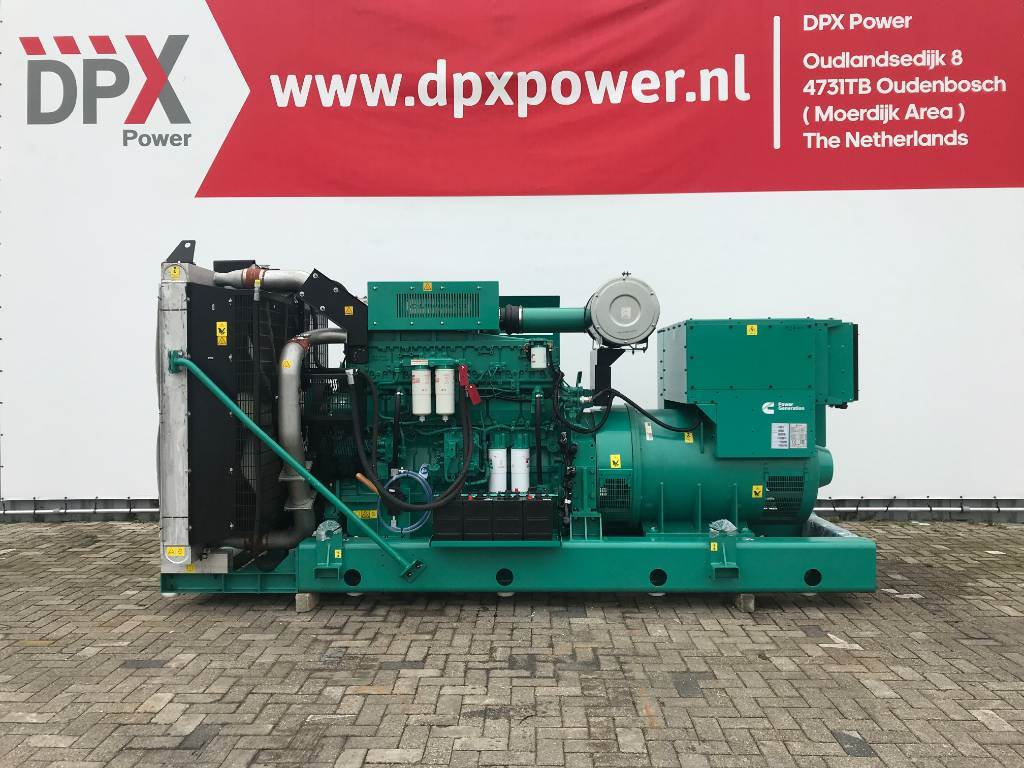 Cummins C900D5 - 900 kVA Generator - DPX-18527-O, Diesel generatoren, Bouw