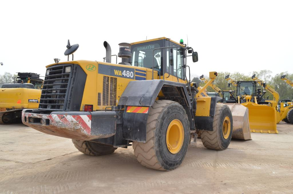 Komatsu WA480-6, Wheel loaders, Construction