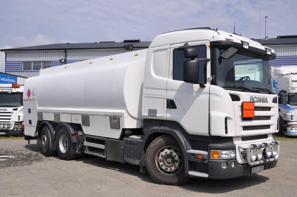 Scania R480 LB6X2*4 MLB, Tankbilar, Transportfordon