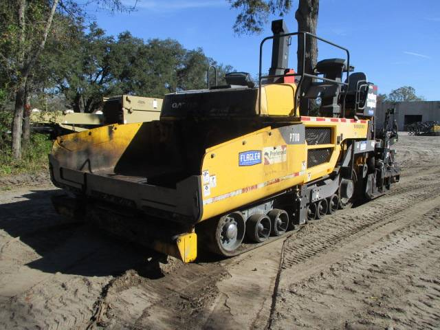 Volvo P7110, Asphalt pavers, Construction Equipment