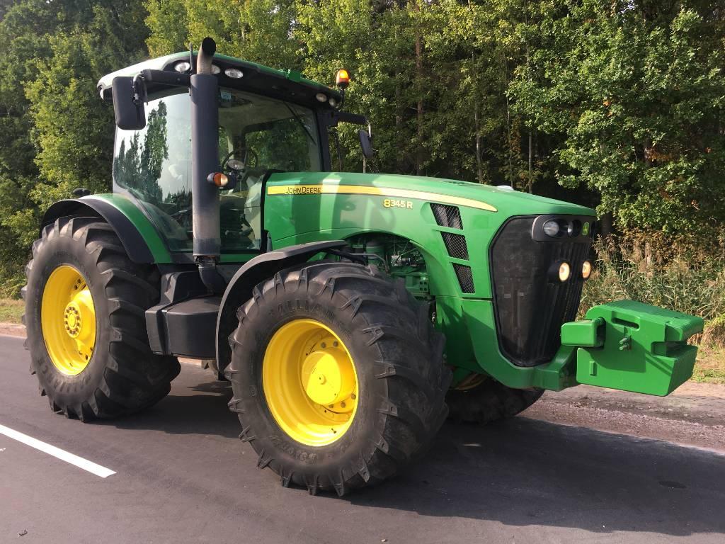 John Deere 8345R, Traktoriai, Žemės ūkis