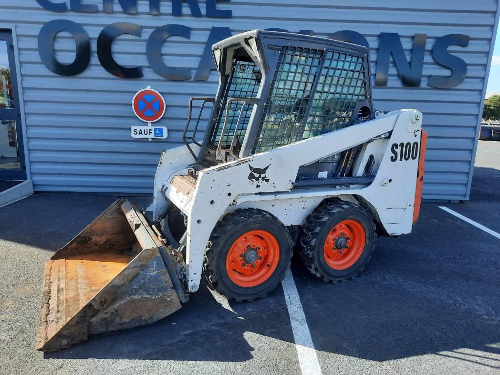 Bobcat S 100, Skid Steer Loaders, Construction Equipment