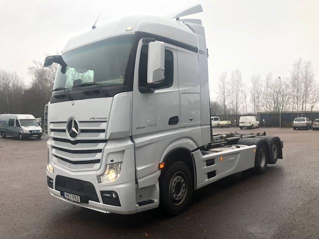 Mercedes-Benz Actros 2551, Lastväxlare/Krokbilar, Transportfordon